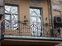 Ограждение балконов из алюминиевого профиля