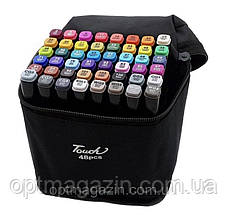 Набір скетч-маркерів Touch sketchmarker (TOUCH48-BL) 48 шт | Набор скетч-маркеров Touch sketchmarkerTOUCH48