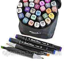 Набір скетч-маркерів Touch sketchmarker (TOUCH36-BL) 36 шт | Набор скетч-маркеров Touch sketchmarker(TOUCH36)