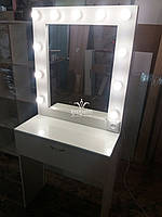 Маленький туалетний столик. Модель А156 білий, фото 1