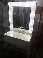 Маленький туалетный столик. Модель А156 белый, фото 1