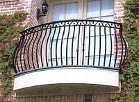 Ограждения для балкона из нержавейки