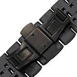 Браслет BeWatch для Samsung Galaxy Watch 3 45 mm Ремешок 22мм classic стальной Link Black (1021401.10), фото 6