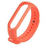 Ремешок для Mi Band 5 силиконовый Оранжевый BeWatch (1540607), фото 2
