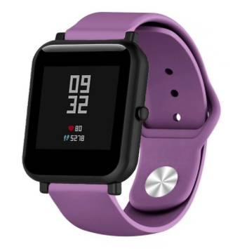 Ремешок BeWatch для Amazfit Bip   Lite   GTS   GTR 42mm Фиолетовый (1010310)