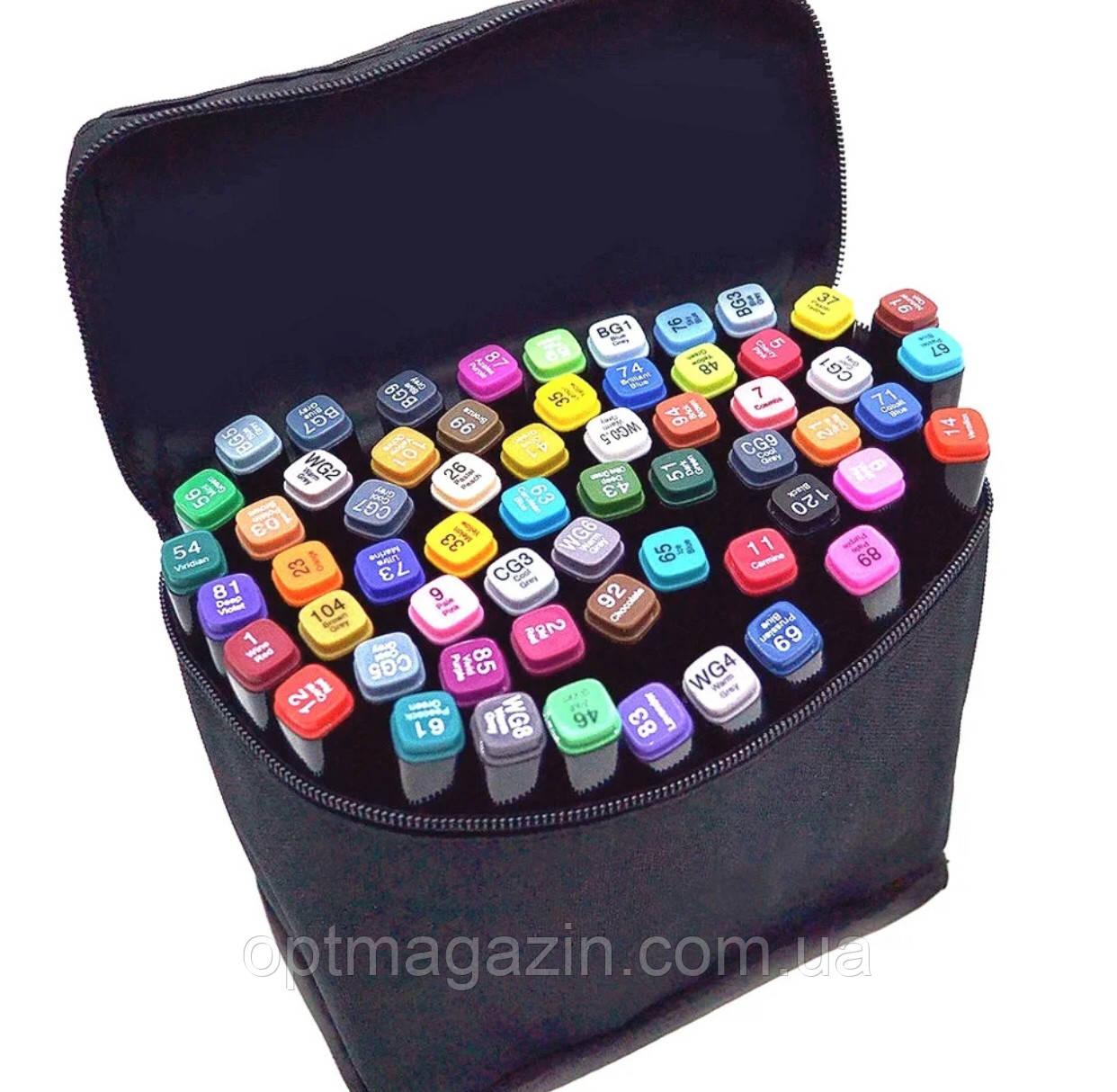 Набір скетч-маркерів Touch sketchmarker 120 шт. (TOUCH120-BL)   Набір скетч-маркерів Touch sketchmarker