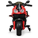 Дитячий електро мотоцикл на акумуляторі BMW M 4080 для дітей 3-8 років червоний, фото 3