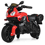 Дитячий електро мотоцикл на акумуляторі BMW M 4080 для дітей 3-8 років червоний, фото 6