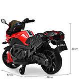 Дитячий електро мотоцикл на акумуляторі BMW M 4080 для дітей 3-8 років червоний, фото 7