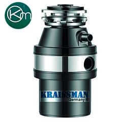 Подрібнювач харчових відходів(діспоузер)Kraissmann 740 LAS 1000