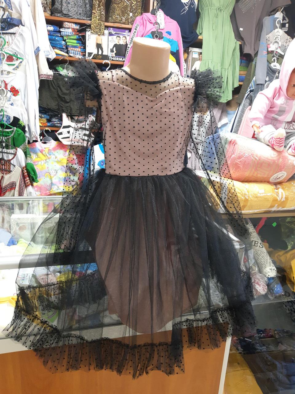 Дизайнерское нарядное бальное платье для девочки ручной работы р. 116 122 128