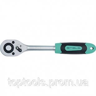 """Ключ-тріскачка 1/2"""" з швидким скиданням, 72 зуба, CrV, STELS"""