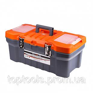 """Ящик для инструмента с металическими замками 22"""", 28 х 23 см, 5 х 56 см Россия Stels"""