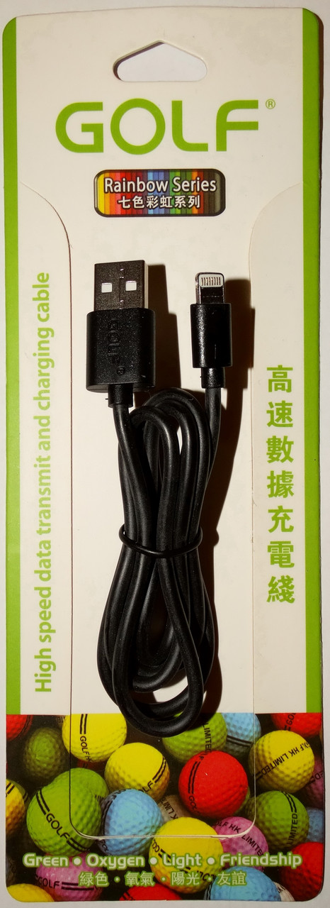 Кабель 0.9 метрів для Iphone 6 / 6S / 5 / 5S Lightning