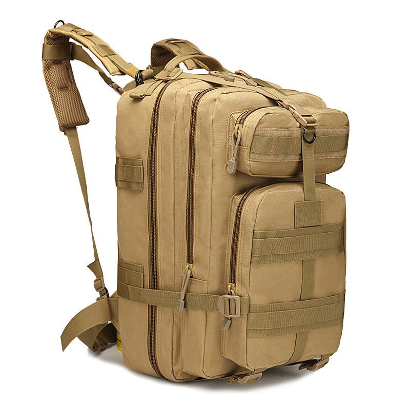 Тактический штурмовой рюкзак койот 45л, многофункциональный рюкзак