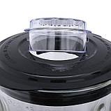 Блендер Lexical LBL-1508 стаціонарний +кофемолка (1.5 л, 600Вт, скло) харчової екстрактор шейкер, подрібнювач, фото 5