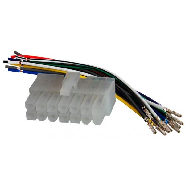 Роз'єм для магнітоли універсальний для магнітол 14 pin AWM 120-02