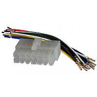 Роз'єм для магнітоли універсальний для магнітол 14 pin AWM 120-02, фото 1