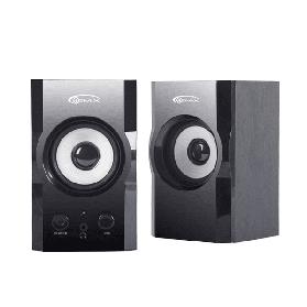 Колонки для компьютера (акустическая система) Gemix TF-3 2.0 (2*3 Вт) Black