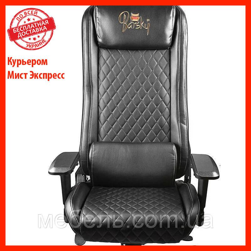 Кресло для врача Barsky GB-01 Game Business Black, черный