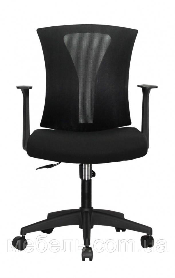Комп'ютерне дитяче крісло Barsky BM-07 Mesh Light Black, чорний