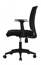 Комп'ютерне дитяче крісло Barsky BM-07 Mesh Light Black, чорний, фото 2