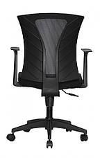 Комп'ютерне дитяче крісло Barsky BM-07 Mesh Light Black, чорний, фото 3