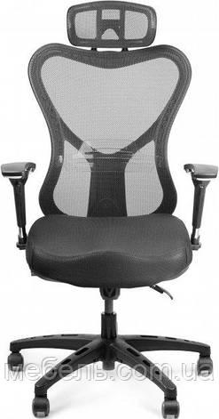 Офісне крісло Barsky Fly-06 Butterfly PL, чорний, фото 2