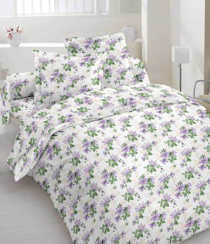 Комплект постельного белья из бязи Голд евроразмер Весна