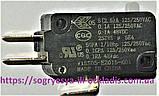 Выключ. черн.Honeywell 3 конт. 125/250 VAC (б.ф у, Кит) котлов газ. Baxi Westen и др, арт. VI5S05, к.з. 0068/1, фото 4