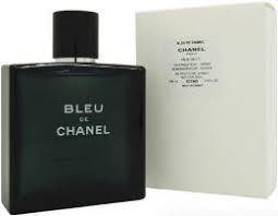 Оригинальный Тестер без крышечки Оригинальные Духи мужские Chanel Bleu de Chanel