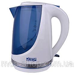 Чайник электрический DSP KK1111 1850W 1.7L электрочайник дорожный