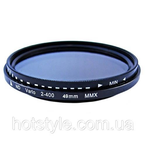 ND фильтр переменной плотности ND2-ND400, 49мм, 103983