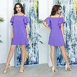Платье женское нарядное Размеры- Размер: 42-44, 44-46 Цвет: коралл, марсал, синий, персик, сиреневый., фото 4