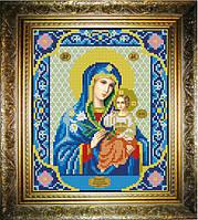 """Схема для вышивания бисером на атласе """"Неувядаемый Цвет Богородица"""" (ИС-418)"""