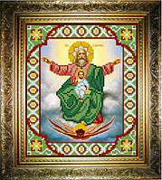 """Схема для вышивания бисером на атласе """"Господь Саваоф (Отечество)"""" (ИС-455)"""