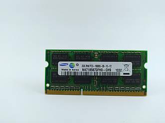 Оперативная память для ноутбука SODIMM Samsung DDR3 2Gb 1333MHz PC3-10600S (M471B5673FH0-CH9) Б/У