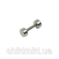 Штанга декоративная SH904-1 (19 мм), цвет никель