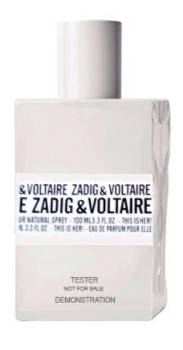 Zadig and Voltaire This Is her edp 100ml Tester Оригинал