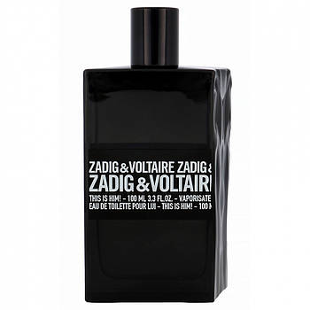 Zadig and Voltaire This Is him edp 100ml Tester Оригинал