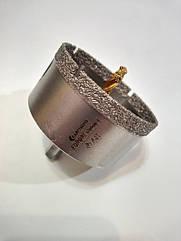 Коронка 68мм Craftmate по керамограниту спеченный алмаз с НАПРАВЛЯЮЩИМ