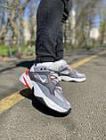 Кросівки чоловічі натуральна шкіра Nike M2K Tekno Найк М2К Техно, фото 5