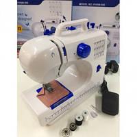 Швейная машинка  Zimber Многофункциональная портативная домашняя 12 в 1 fhsm-506  компактная с подсветкой ТОП