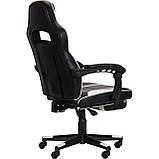 Кресло VR Racer Dexter Vector черный/белый (бесплатная адресная доставка), фото 4