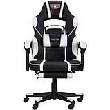 Кресло VR Racer Dexter Vector черный/белый (бесплатная адресная доставка), фото 2