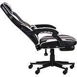 Кресло VR Racer Dexter Vector черный/белый (бесплатная адресная доставка), фото 5