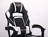 Крісло VR Racer Dexter Vector чорний/білий (безкоштовна адресна доставка), фото 8