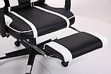 Кресло VR Racer Dexter Vector черный/белый (бесплатная адресная доставка), фото 9