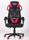Крісло VR Racer Radical Taylor чорний/червоний (безкоштовна адресна доставка), фото 9