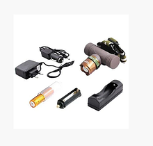 Ліхтарик Police BL 6866 на голову з ультрафіолетом (1 LED ламп,) на батарейках